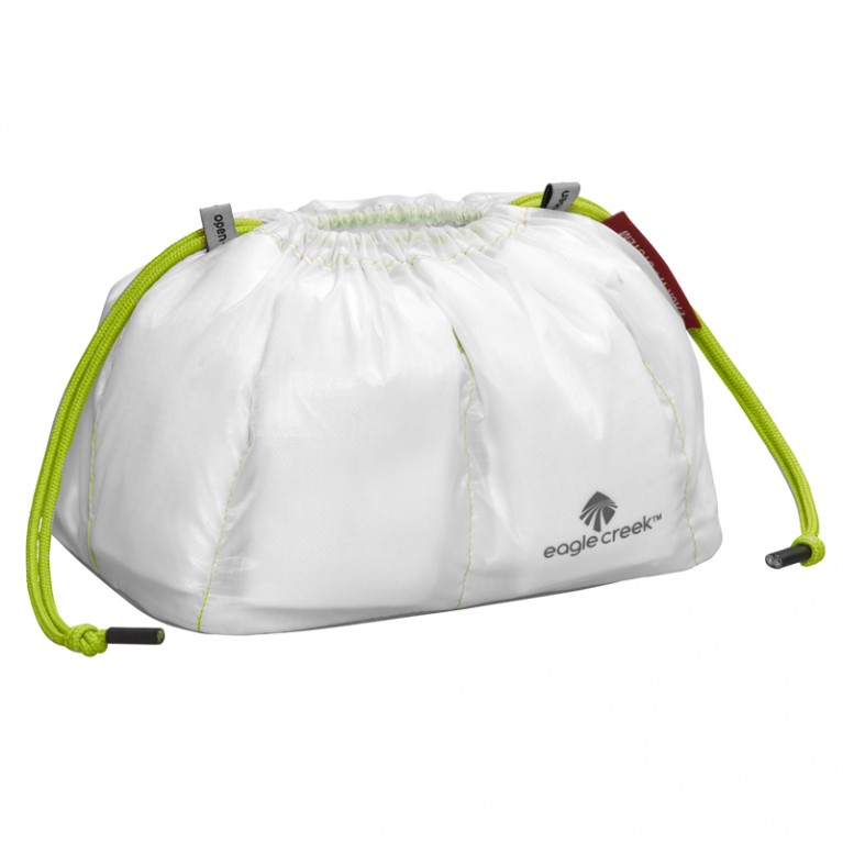 PACK-IT SPECTER CINCH ORGANIZER WHITE/STROBE GREEN