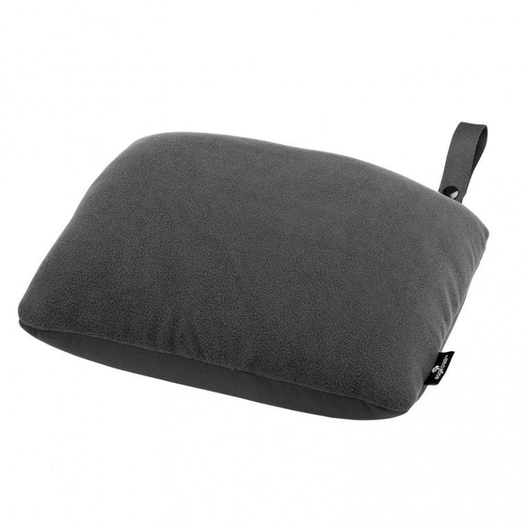 2-IN-1 TRAVEL PILLOW CHARCOAL